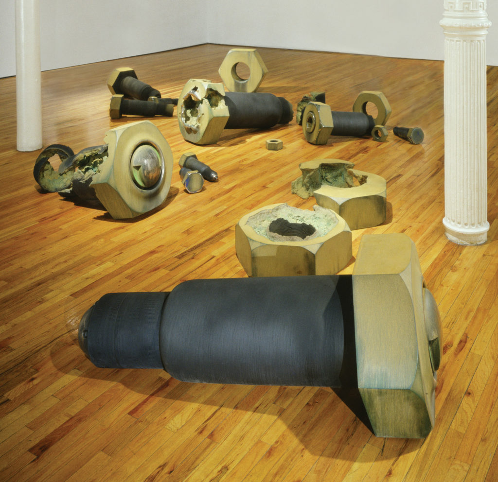 <strong>Test Site (2007)</strong><br> Installation: OK Harris Gallery, New York, NY<br> Dimensions Variable